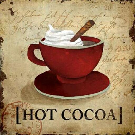 Hot Cocoa Poster Print by Elizabeth Medley (24 x 24) c2fc32619db528c633c477bd2a9de62c