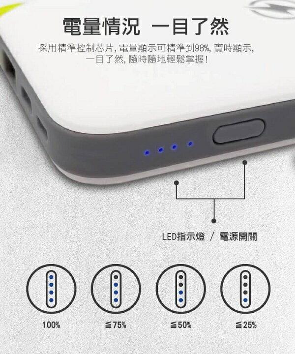 ★免運★OWEIDA 大容量無線充電行動電源FPW-8500(黑&白顏色隨機出貨) [大買家] 3