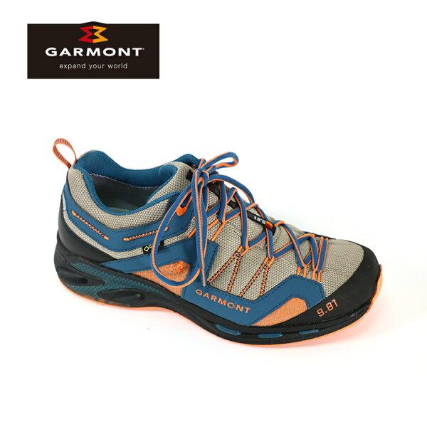 GARMONTGore-Tex低筒疾行健走鞋9.81TrailproIII481221211男款城市綠洲((登山鞋、越野疾行、黃金大底)
