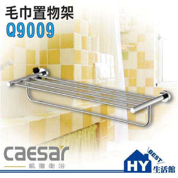 凱撒衛浴 Q9009 衣物毛巾架 置物架《HY生活館》水電材料專賣店