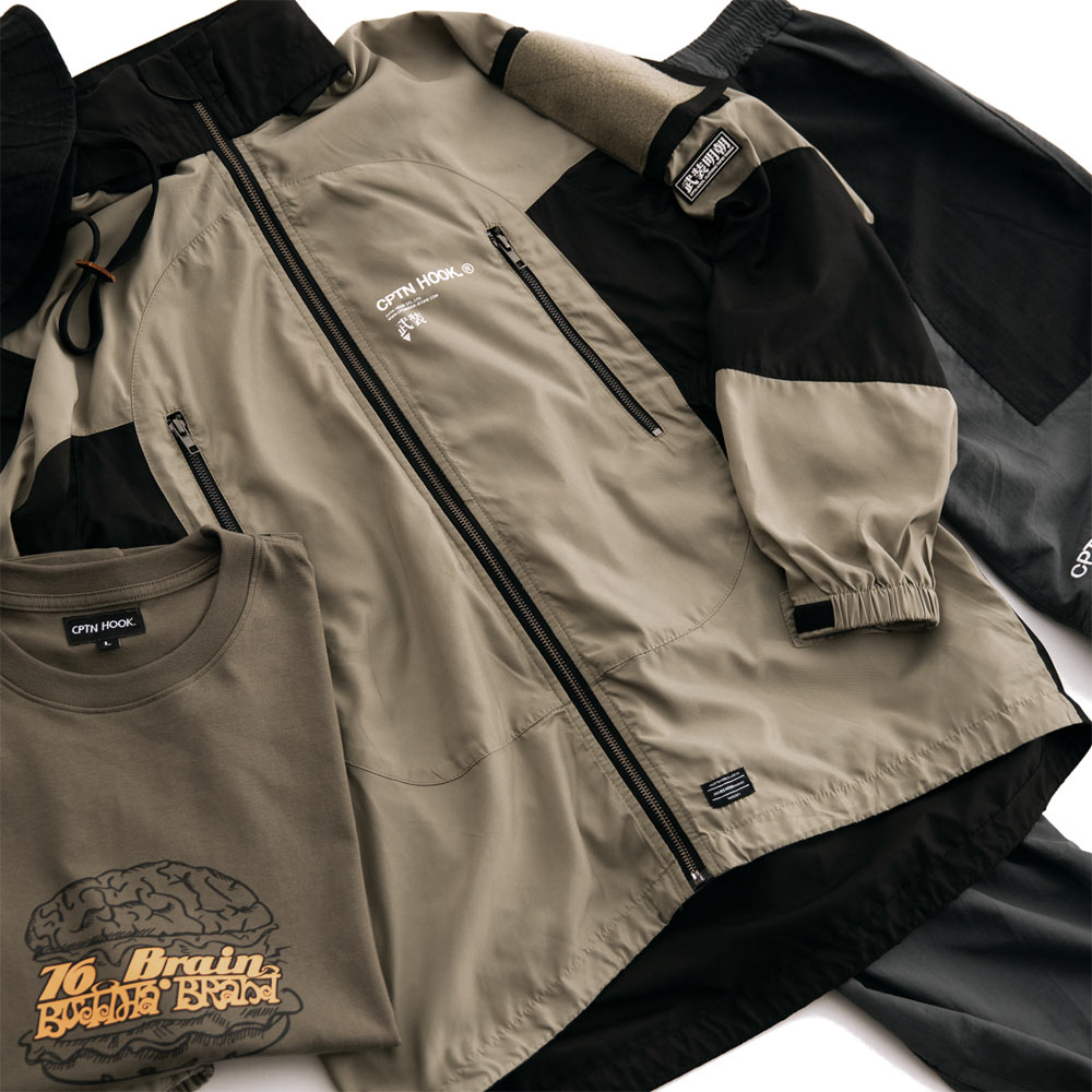 【CPTN HOOK】TIGER ON THE HILL COAT(黑 / 卡其) 高領 抗寒 防風 風衣外套(palace store) 7