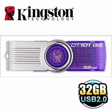 *╯新風尚潮流╭*金士頓 32G 32GB DataTraveler 101 G2 2.0 隨身碟 DT101G2/32GB