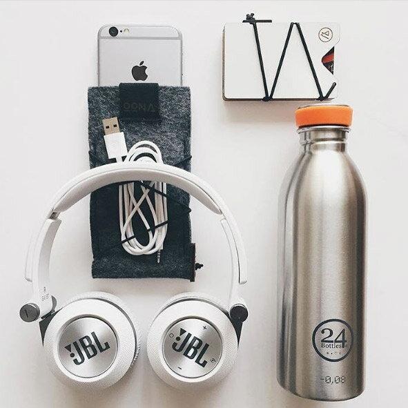 orin 原品設計:《24Bottles》輕量水瓶銀色500ml