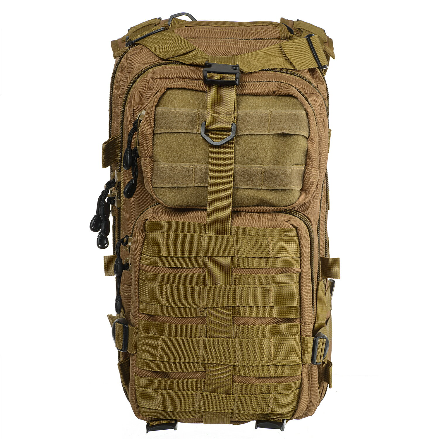 Military Tactical Large Army 3 Day Assault MOLLE Outdoor Backpack for Hiking - Coyote 2