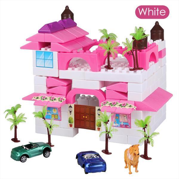 Kid Plastic Building Block Set Preschool Children Playing Toys 0