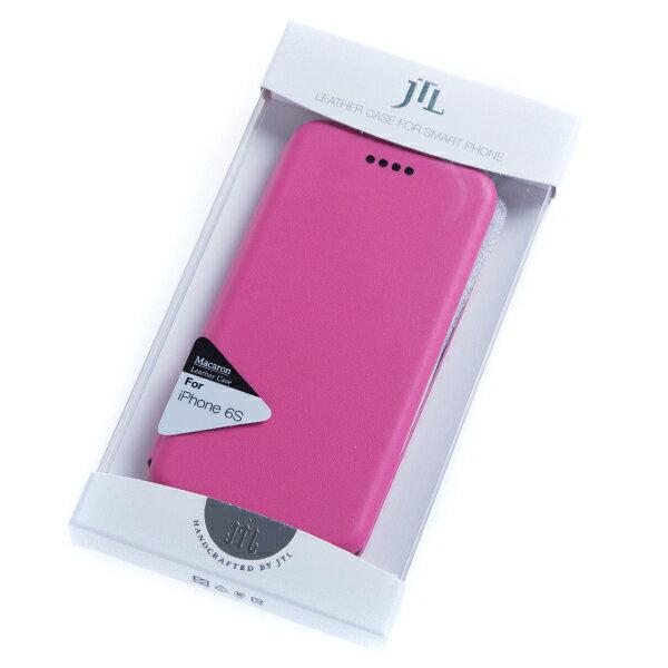 【EST】Seidman 席德曼 Iphone6S 4.7吋 馬卡龍皮套 手機殼 粉紅 [4719552414956] F1112 - 限時優惠好康折扣