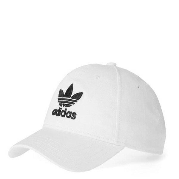 【EST】AdidasTrefoilClassicCapCollegiateWhiteBR9720老帽白[AD-4098-001]I0430