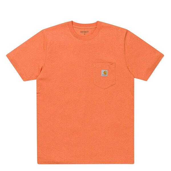 【EST】CarharttSSPocketT-Shirt美版口袋短Tee橘[CA-0001-064]I0704
