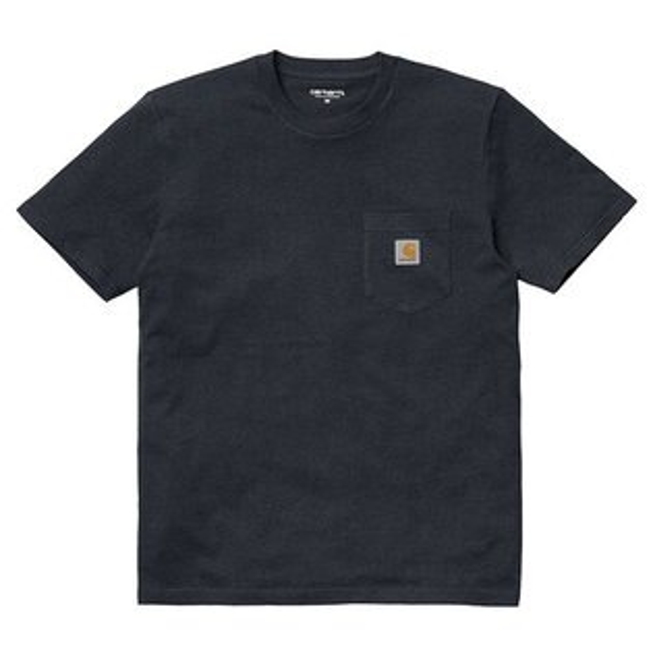 【EST】CarharttSSPocketT-Shirt美版口袋短Tee深藍[CA-0001-086]I0515