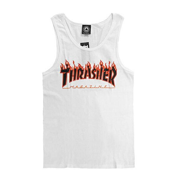 【EST】Thrasher Flame Tank 背心 火焰 Gd [Th-0002] 黑/白/灰/桃紅 G0804 2