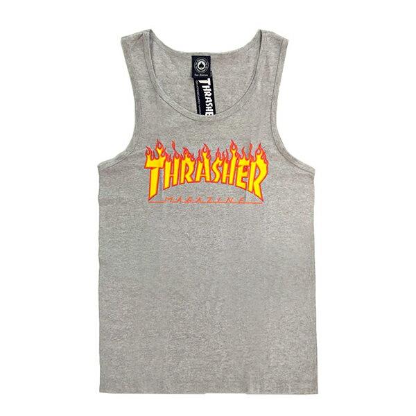 【EST】Thrasher Flame Tank 背心 火焰 Gd [Th-0002] 黑/白/灰/桃紅 G0804 3