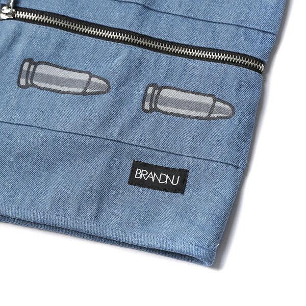 【EST】Brandnu Denim Bullet Vest 子彈 丹寧 牛仔背心 [BN-0006-086] G0208 3