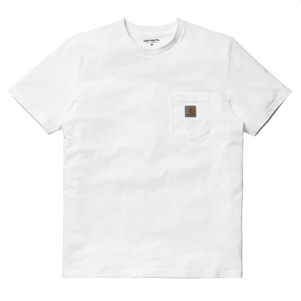 【EST】Carhartt S/S Pocket T-Shirt 美版 口袋 短Tee白 [CA-0001-001] G0817 0