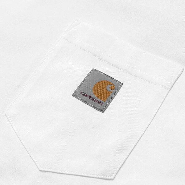 【EST】Carhartt S/S Pocket T-Shirt 美版 口袋 短Tee白 [CA-0001-001] G0817 2