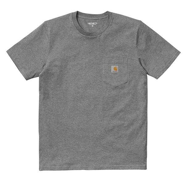 【EST】Carhartt S/S Pocket T-Shirt 美版 口袋 短Tee灰 [CA-0001-007] G0817 0