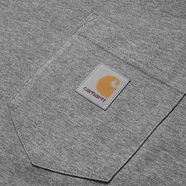【EST】Carhartt S/S Pocket T-Shirt 美版 口袋 短Tee灰 [CA-0001-007] G0817 2