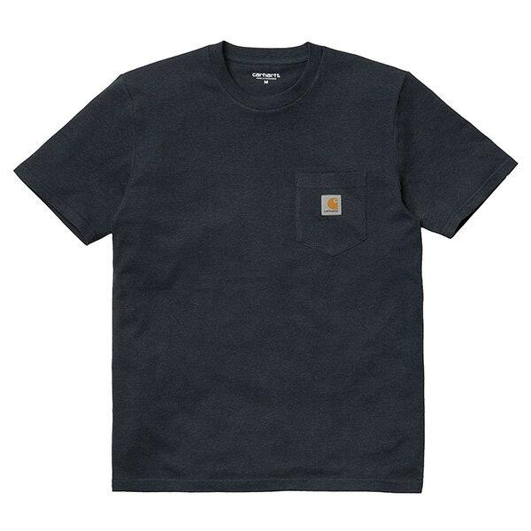 【EST】Carhartt S/S Pocket T-Shirt 美版 口袋 短Tee藍 [CA-0001-083] G0817 0