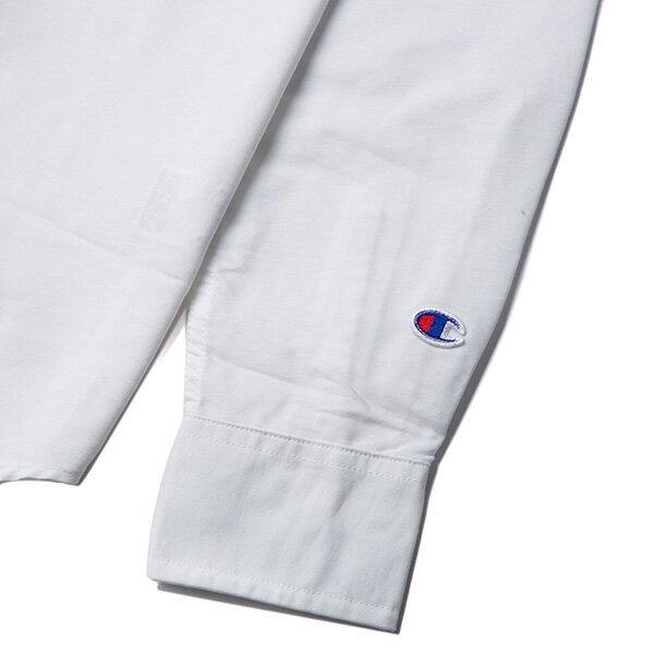 【EST】CHAMPION 日版 F405 CAMPUS 長袖 襯衫 白 [CH-0019-001] G0107 4