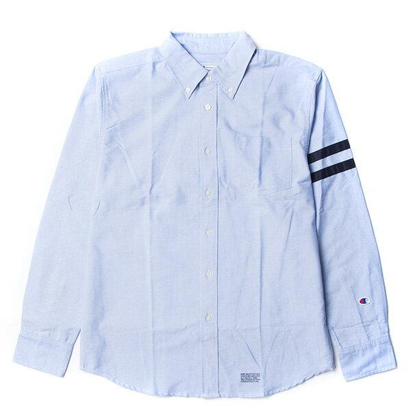 【EST】Champion 日版 F405 Campus 長袖 襯衫 深藍 [CH-0019-086] G0107 0