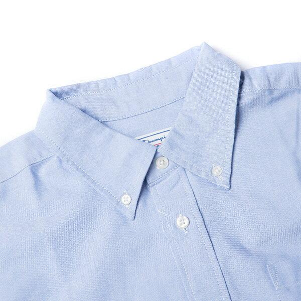 【EST】Champion 日版 F405 Campus 長袖 襯衫 深藍 [CH-0019-086] G0107 2