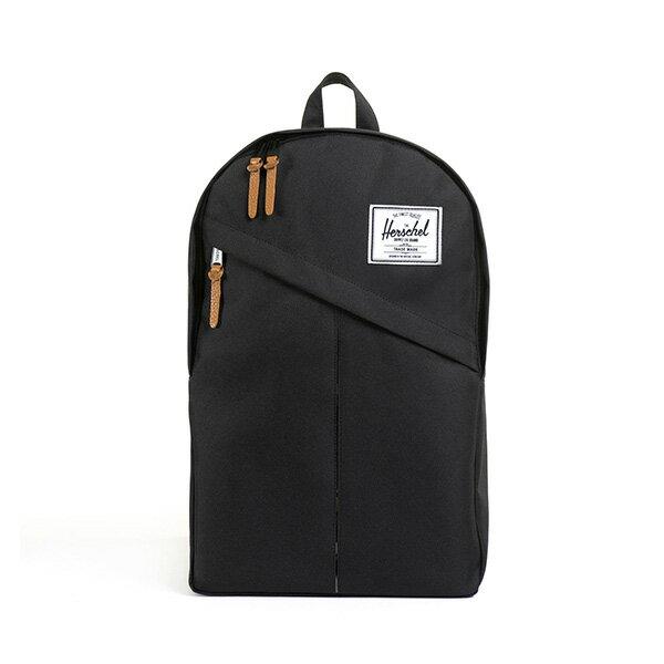 【EST】Herschel Parker 斜拉鍊 15吋電腦包 後背包 黑 [HS-0003-001] G0414 0