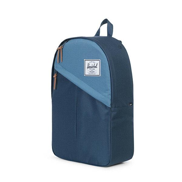 【EST】Herschel Parker 斜拉鍊 15吋電腦包 後背包 拼色 藍 [HS-0003-A58] G0414 2
