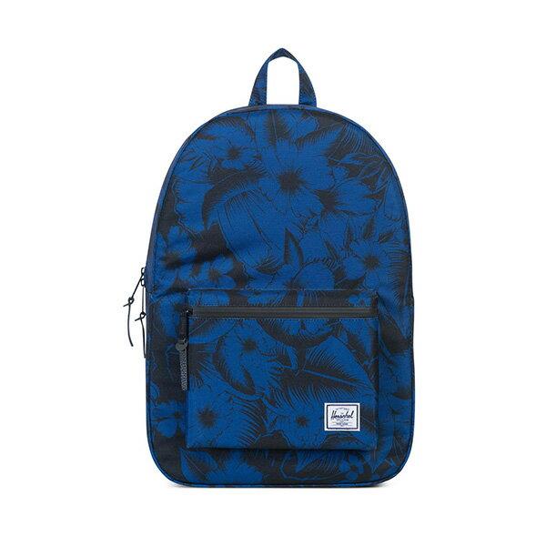 【EST】HERSCHEL SETTLEMENT 15吋電腦包 後背包 叢林 花卉 藍 [HS-0005-A56] G0414