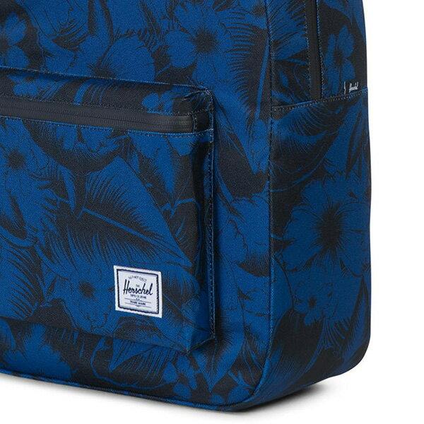 【EST】HERSCHEL SETTLEMENT 15吋電腦包 後背包 叢林 花卉 藍 [HS-0005-A56] G0414 4
