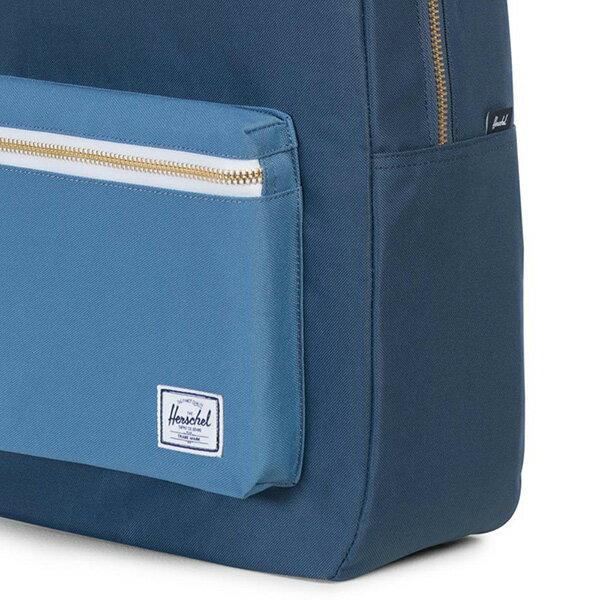 【EST】HERSCHEL SETTLEMENT 15吋電腦包 後背包 拼色 藍 [HS-0005-A58] G0414 4