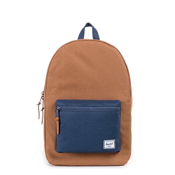 【EST】HERSCHEL SETTLEMENT 15吋電腦包 後背包 拚色 棕藍 [HS-0005-631] G0706 0