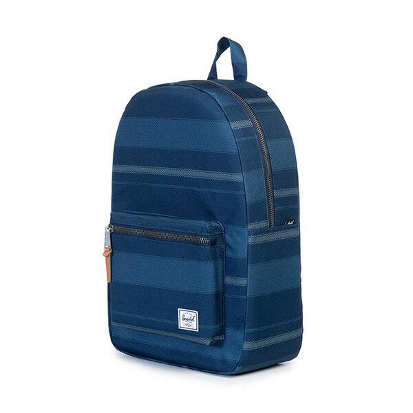 【EST】HERSCHEL SETTLEMENT 15吋電腦包 後背包 藍 條紋 [HS-0005-925] G0706 2
