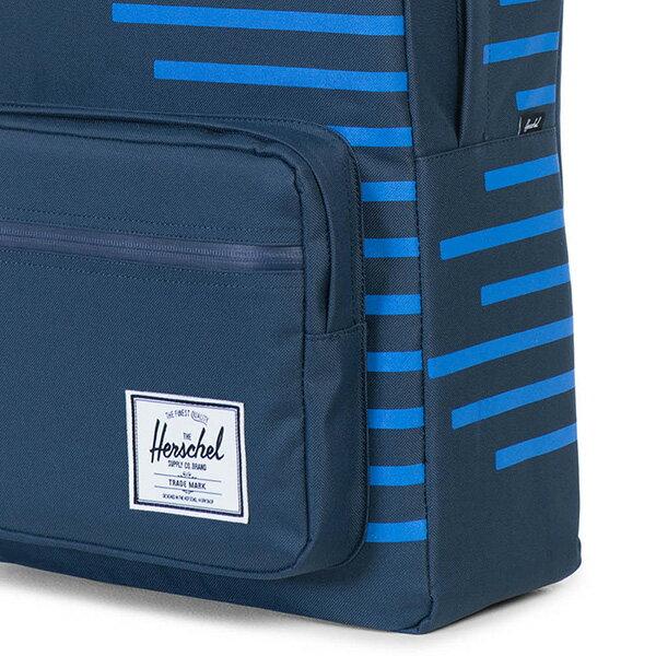 【EST】Herschel Pop Quiz 15吋電腦包 後背包 Offset系列 條紋 藍 [HS-0011-A42] G0414 4