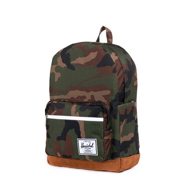 【EST】HERSCHEL POP QUIZ 15吋電腦包 後背包 麂皮 迷彩 [HS-0011-219] G0706 2