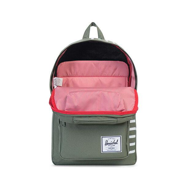 【EST】HERSCHEL POP QUIZ 15吋電腦包 後背包 OFFSET系列 條紋 綠 [HS-0011-A41] G0706 1