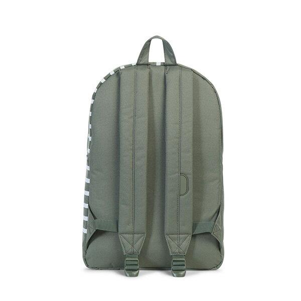 【EST】HERSCHEL POP QUIZ 15吋電腦包 後背包 OFFSET系列 條紋 綠 [HS-0011-A41] G0706 3