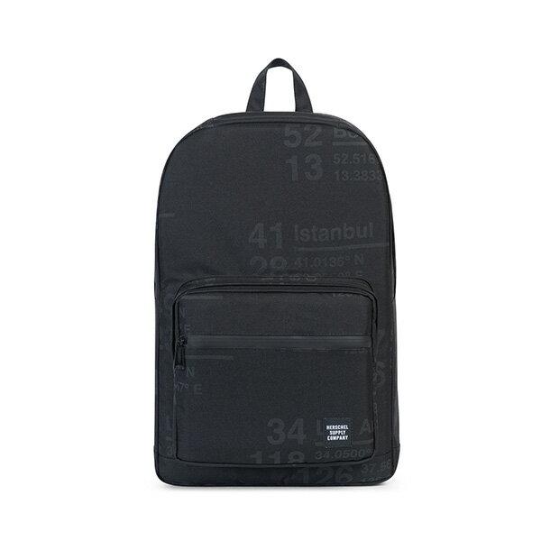 【EST】Herschel Pop Quiz 15吋電腦包 後背包 城市緯度 黑 [HS-0011-B46] G0801 0