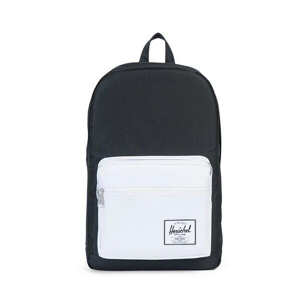 【EST】HERSCHEL POP QUIZ 15吋電腦包 後背包 黑白 [HS-0011-B49] G0801 0