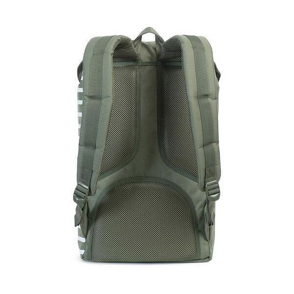 【EST】HERSCHEL LITTLE AMERICA 15吋電腦包 後背包 OFFSET系列 條紋 綠 [HS-0014-A41] G0414 3