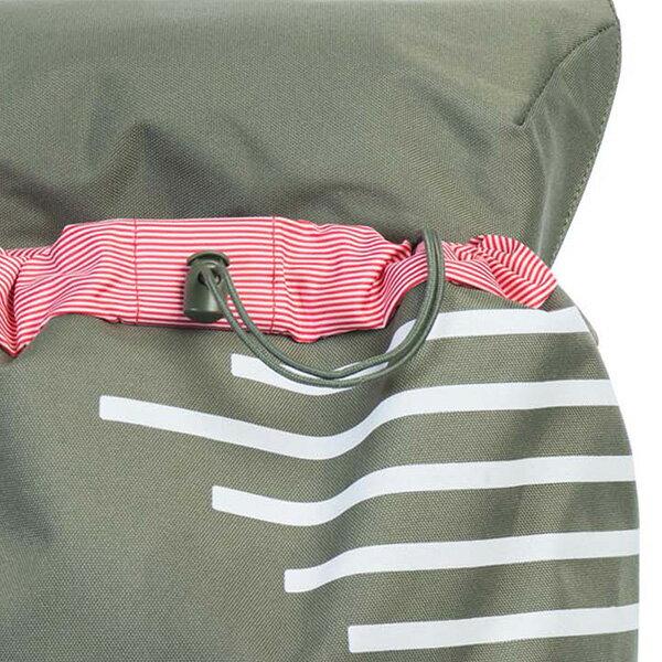 【EST】HERSCHEL LITTLE AMERICA 15吋電腦包 後背包 OFFSET系列 條紋 綠 [HS-0014-A41] G0414 5