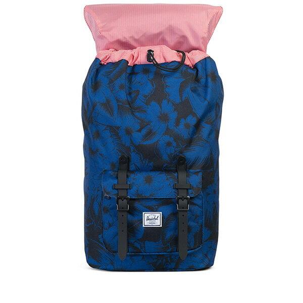 【EST】Herschel Little America 15吋電腦包 後背包 叢林 花卉 藍 [HS-0014-A56] G0414 1