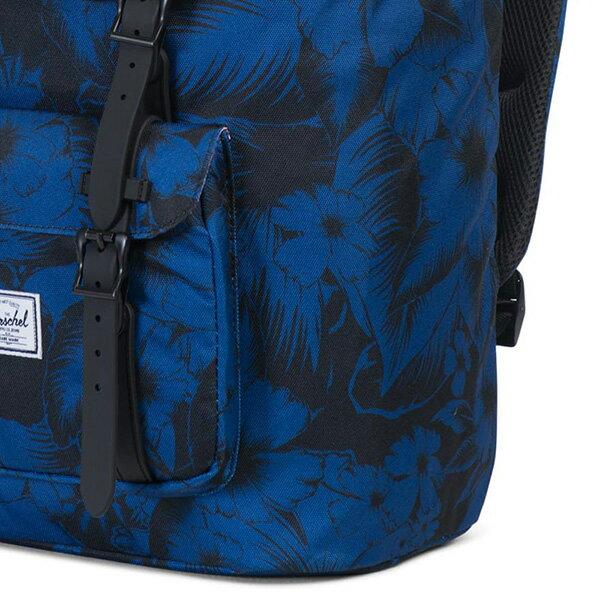 【EST】Herschel Little America 15吋電腦包 後背包 叢林 花卉 藍 [HS-0014-A56] G0414 4