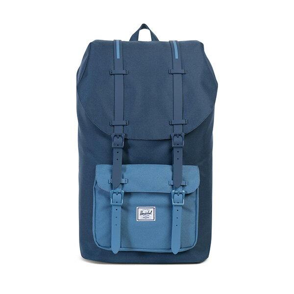【EST】Herschel Little America 15吋電腦包 後背包 拼色 藍 [HS-0014-A58] G0414 0