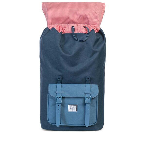 【EST】Herschel Little America 15吋電腦包 後背包 拼色 藍 [HS-0014-A58] G0414 1