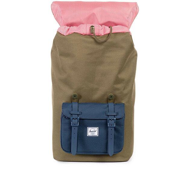 【EST】HERSCHEL LITTLE AMERICA 15吋電腦包 後背包 拚色 綠藍 [HS-0014-755] G0706 1