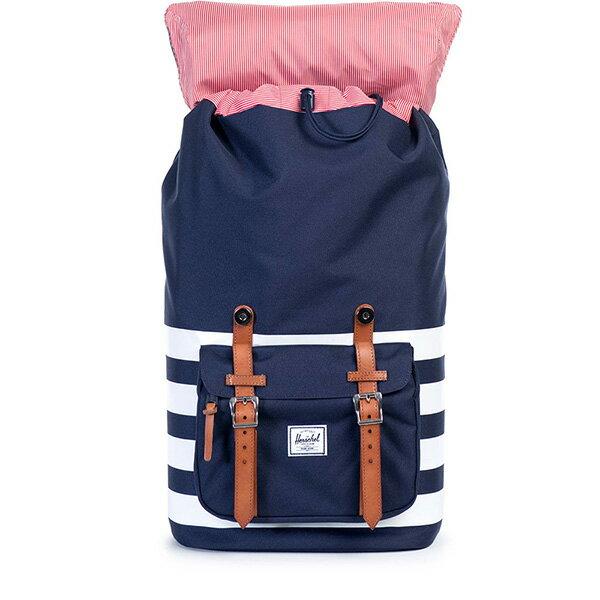 【EST】HERSCHEL LITTLE AMERICA 15吋電腦包 後背包 條紋 藍 [HS-0014-903] G0122 1