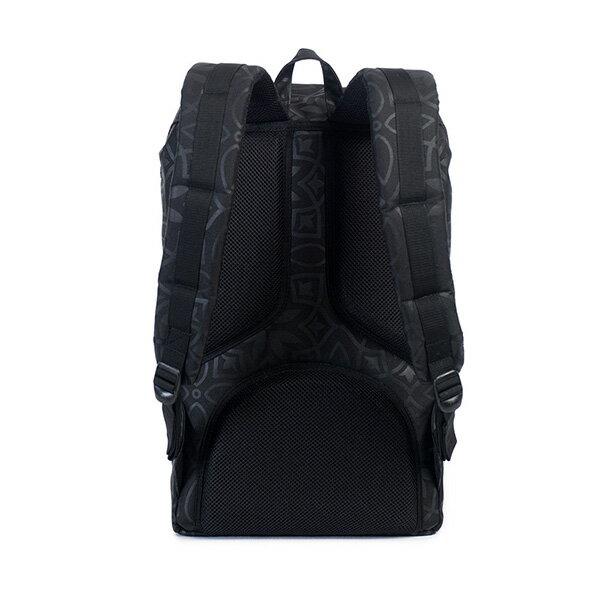 【EST】HERSCHEL LITTLE AMERICA 15吋電腦包 後背包 膠條 印花 黑 [HS-0014-922] G0122 3