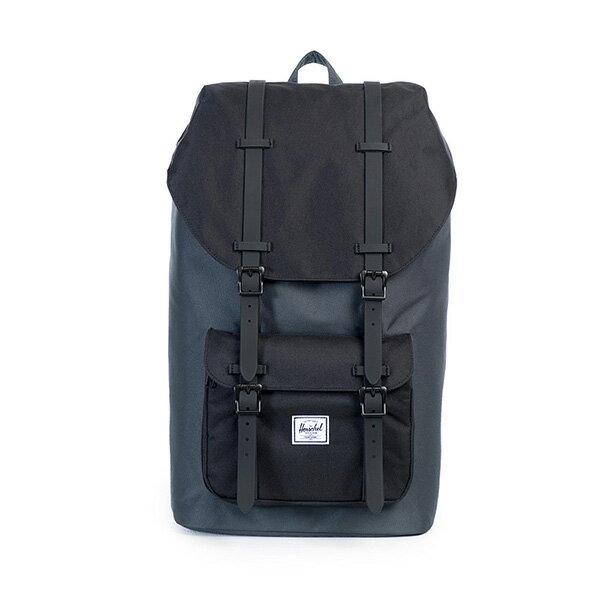 【EST】HERSCHEL LITTLE AMERICA 15吋電腦包 後背包 黑灰 [HS-0014-930] G0122 0