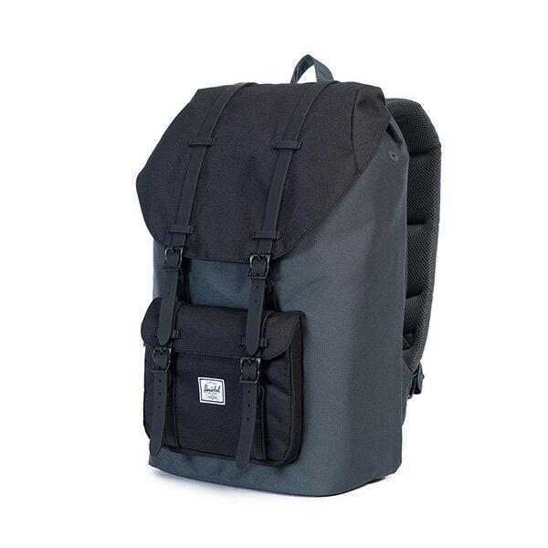 【EST】HERSCHEL LITTLE AMERICA 15吋電腦包 後背包 黑灰 [HS-0014-930] G0122 2