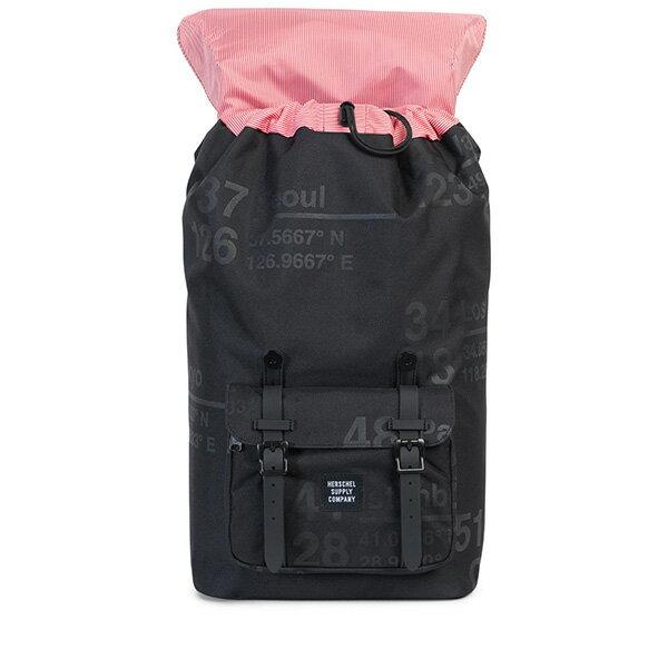 【EST】Herschel Little America 15吋電腦包 後背包 城市緯度 黑 [HS-0014-B46] G0801 1