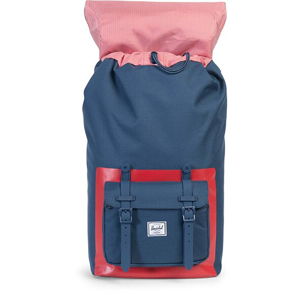 【EST】HERSCHEL LITTLE AMERICA 15吋電腦包 後背包 紅印 藍 [HS-0014-B52] G0801 1
